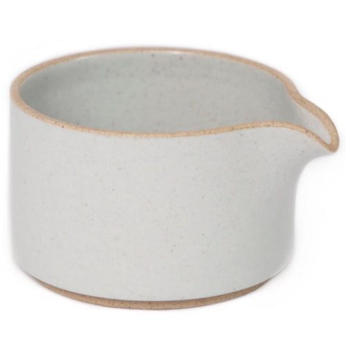 Hasami PorcelainMilk Creamer in Gloss Gray - Batten Home