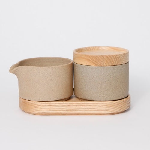 Hasami PorcelainSugar Bowl in Natural - Batten Home