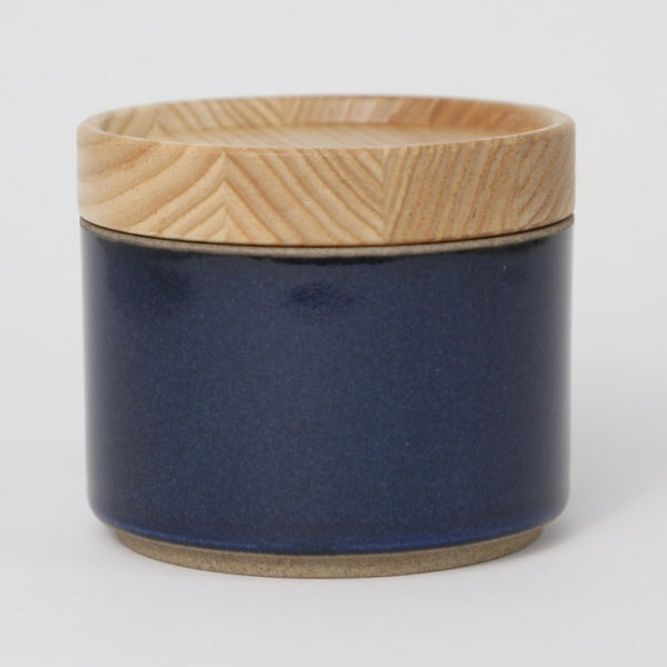 Hasami PorcelainSugar Bowl in Gloss Blue - Batten Home