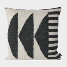 Load image into Gallery viewer, Ferm LivingKelim Cushion Black Triangles - Batten Home