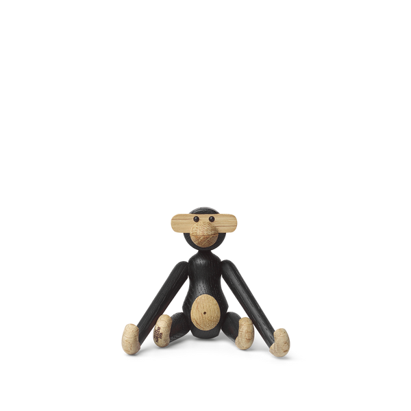 Kay Bojesen Monkey Mini, Black Stained Oak