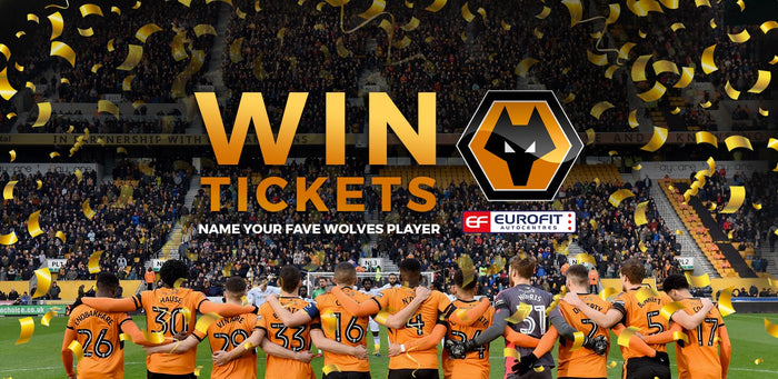 Eurofit Competition: Win 2 Wolves tickets!