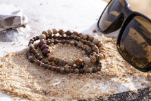 Load image into Gallery viewer, UNCOMMON Men's Beads Bracelet Gold Charm Jasper Beads