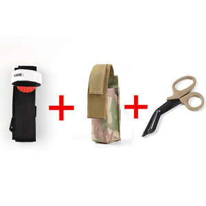 Portable First Aid Quick Slow Release Buckle One Hand Emergency Tourniquet Strap