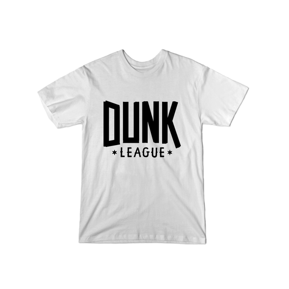 Dunk League T-Shirt (Black Logo) - whistlesports