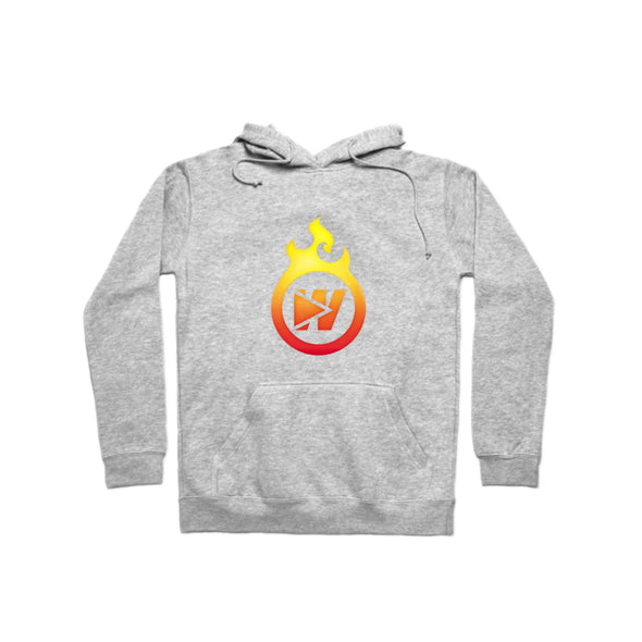 Fire W Logo Hoodie - whistlesports