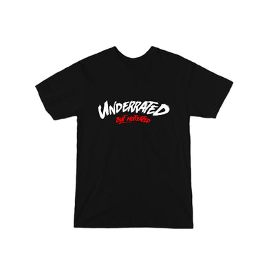Underrated But Motivated T-Shirt - whistlesports