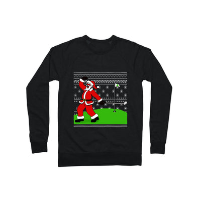 Fist Pump Santa Ugly Xmas Crewneck Sweatshirt