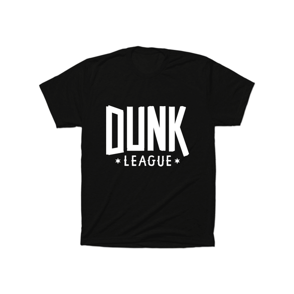 Dunk League T-Shirt (White Logo) - whistlesports