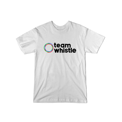 Team Whistle T-Shirt (Black Logo) - whistlesports
