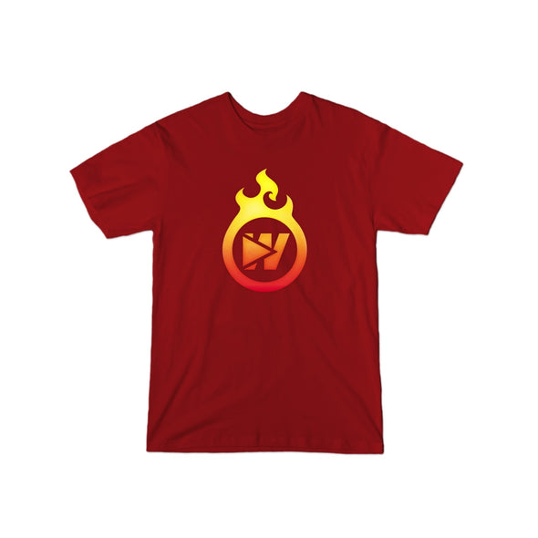 Fire W Logo T-Shirt - whistlesports