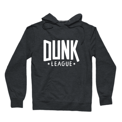 Dunk League Hoodie (White Logo) - whistlesports