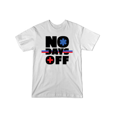 """No Days Off"" T-Shirt - All Proceeds Support The World Health Organization! - whistlesports"