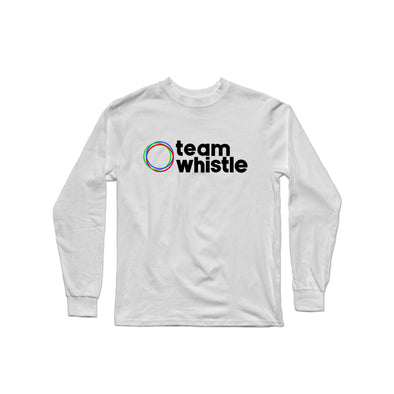 Team Whistle Longsleeve (Black Logo) - whistlesports
