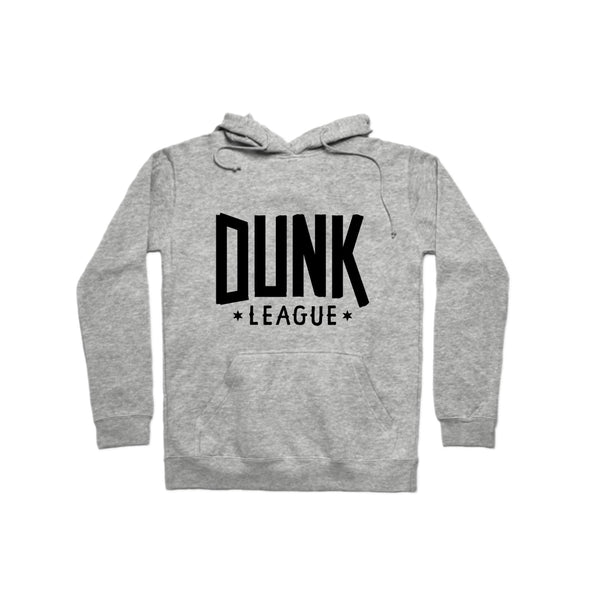 Dunk League Hoodie (Black Logo) - whistlesports