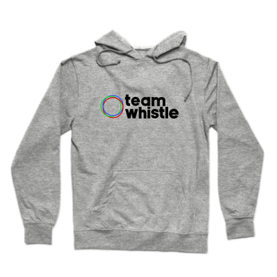 Team Whistle Hoodie (Black Logo) - whistlesports