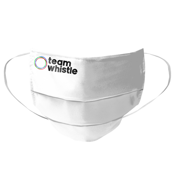 Team Whistle Mask (Black Logo) - whistlesports