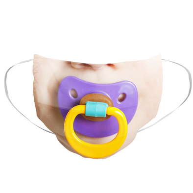 Baby Pacifier Mask - whistlesports