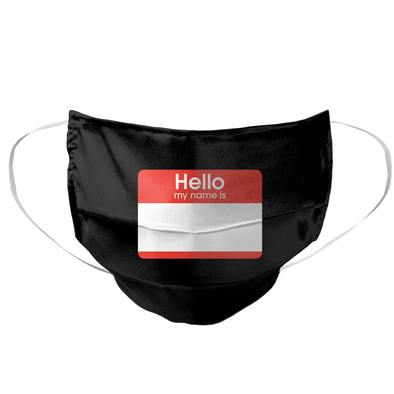 Hello My Name Is Mask - whistlesports