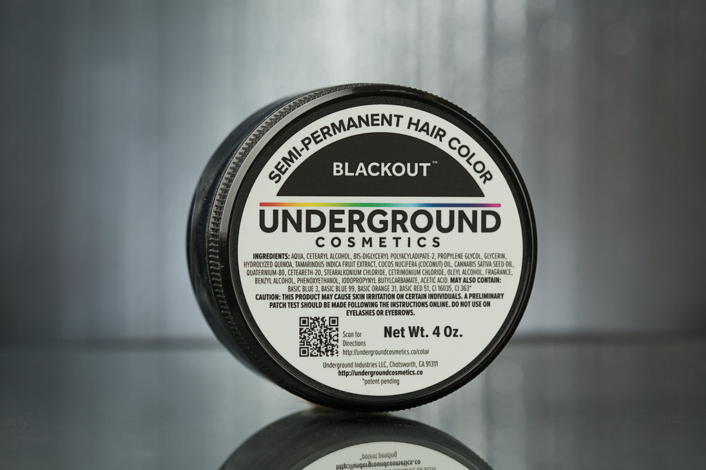 Blackout™ Hair Color-Hair Color-Underground Cosmetics