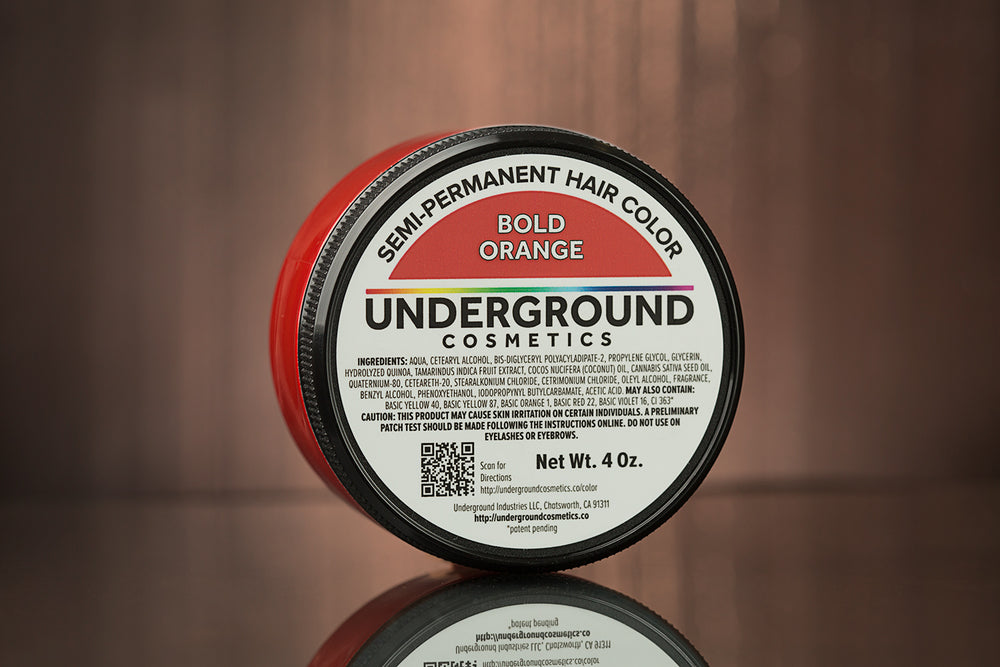 Bold Orange Hair Color-Hair Color-Underground Cosmetics