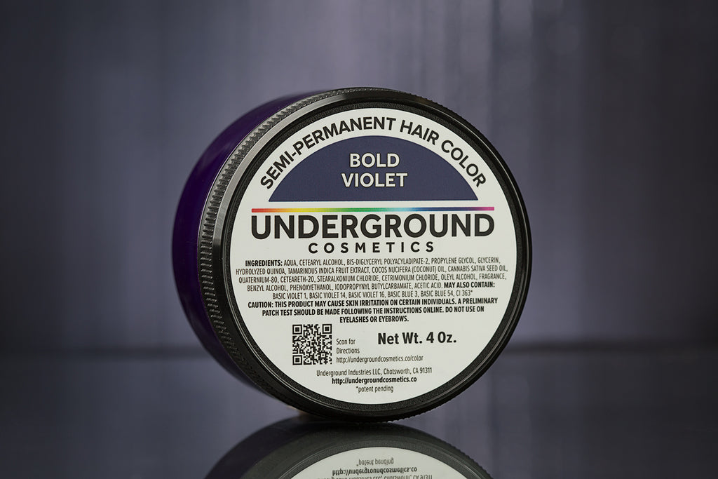 Bold Violet Hair Color-Hair Color-Underground Cosmetics