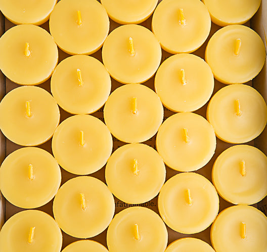 Beeswax Tea Lights 10 Pack