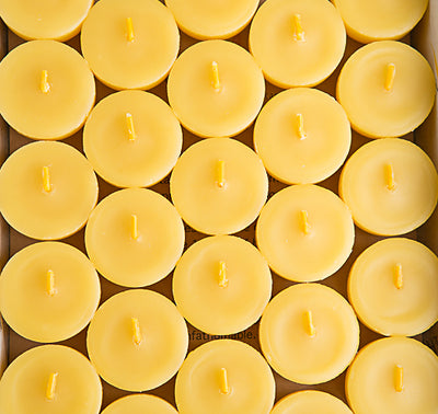 Beeswax Tea Lights 12 Pack