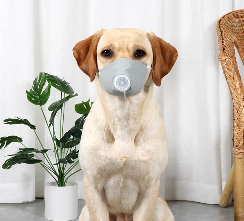 Dog Face Masks,Pets Dog Mask Dustproof Sand Saliva Splash Protective Safety Full Face MASK Face Shield Adjustable for Dog