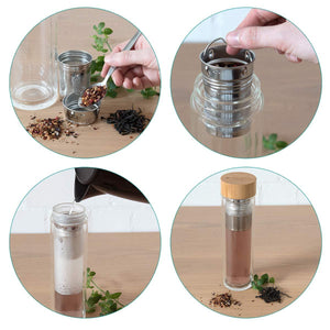 EKO Glass Tea Thermos