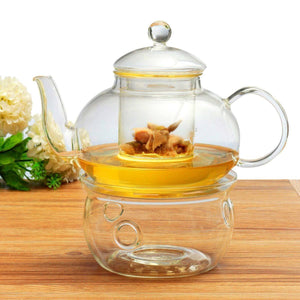 Glass Teapot Set 600ml