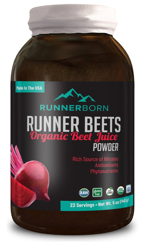 Runner Beets - Organic beet juice powder