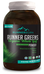 Runner Greens - Organic Whole Leaf Powder (Ready to order Jan 2019)