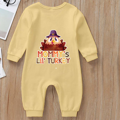 Cute Turkey Jumpsuit