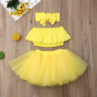 Jane Woa Sunflower 3PCs