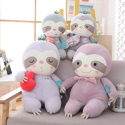 Sloth Plush Family