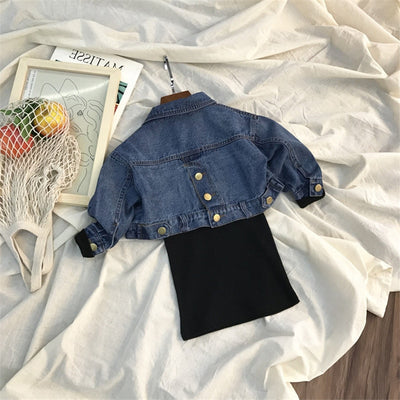 Isla Woa Denim Set
