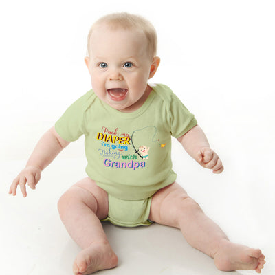Fishing Woa Baby Romper