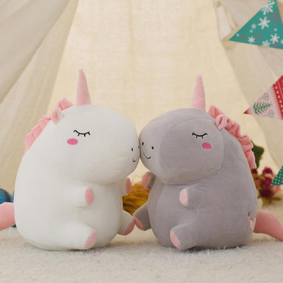 Chubby Unicorn Plush Toy