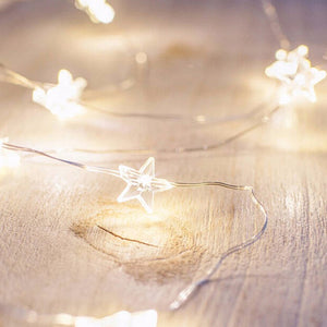 2M/3M LED Star Copper Wire String Lights LED Fairy Lights Battery Operated