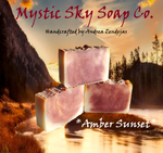 Amber Sunset Handcrafted Cold-Process Soap