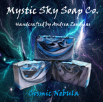 Cosmic Nebula Handcrafted Cold-Process Soap
