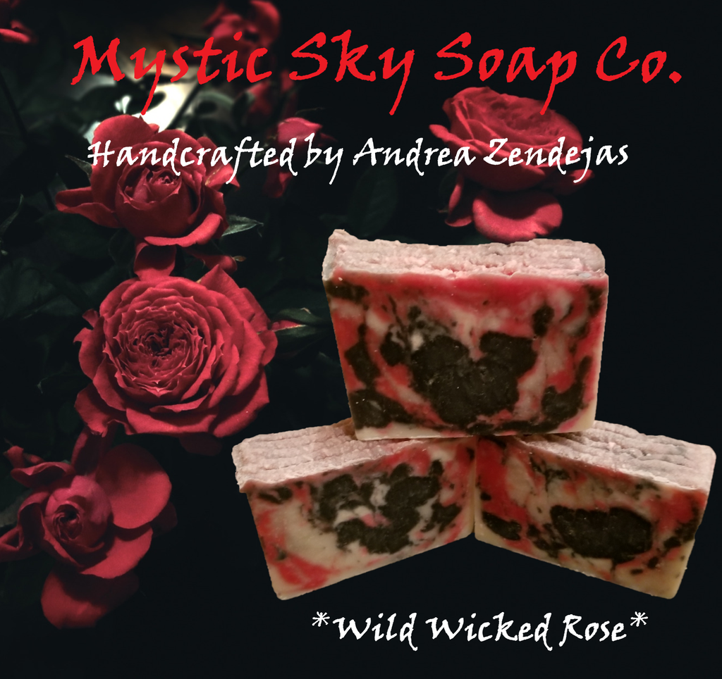 Wild Wicked Rose Handcrafted Cold-Process Soap