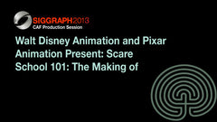 "Walt Disney Animation and Pixar Animation Present: Scare School 101: The Making of ""Monsters University"""