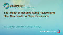 The Impact of Negative Game Reviews and User Comments on Player Experience