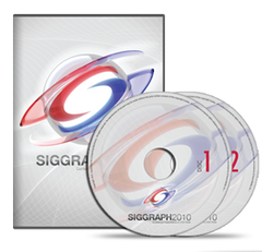 SIGGRAPH 2010 Conference Presentations DVD-ROM set