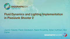 Fluid Dynamics and Lighting Implementation in PixelJunk Shooter 2