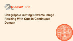 Calligraphic Cutting: Extreme Image Resizing With Cuts in Continuous Domain