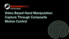 Video-Based Hand Manipulation Capture Through Composite Motion Control