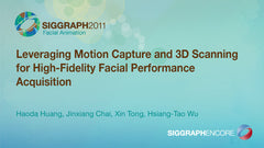 Leveraging Motion Capture and 3D Scanning for High-Fidelity Facial Performance Acquisition